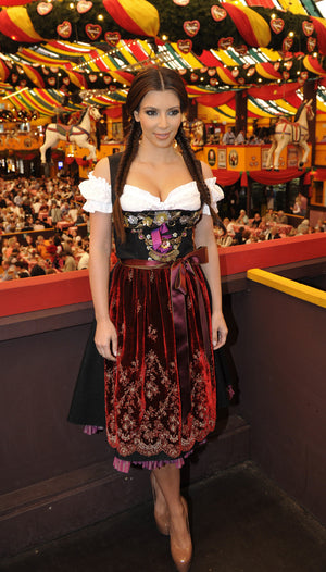 Kim Kardashian's Oktoberfest Dress