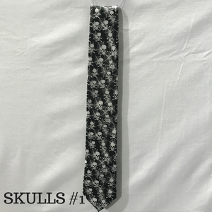 Assorted Skull Neckties
