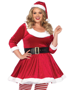 Leg Avenue Ladies Plus Size Santa Costume