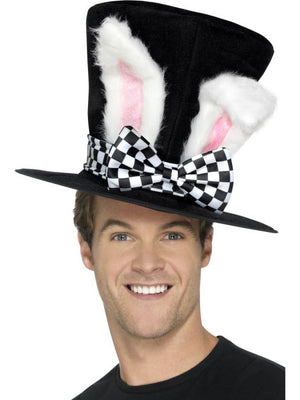 March Hare Top Hat with Bunny ears