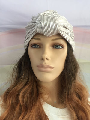 Metallic Turban Pearl