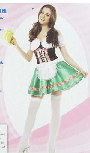 Oktoberfest German Beer Girl Costume
