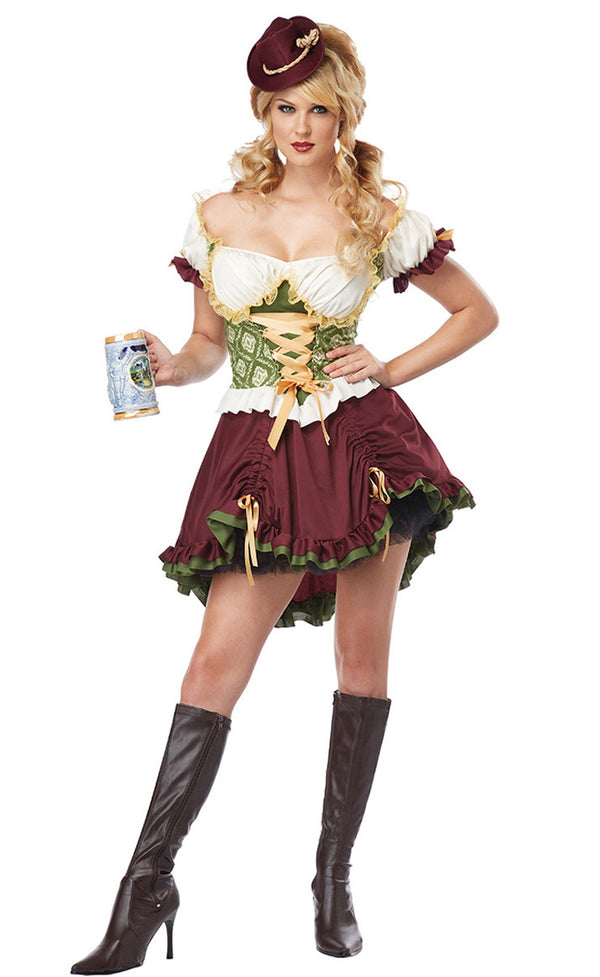 Deluxe Beer Girl Dress
