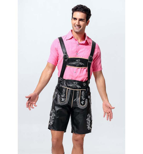 Authentic Men's Oktoberfest Lederhosen