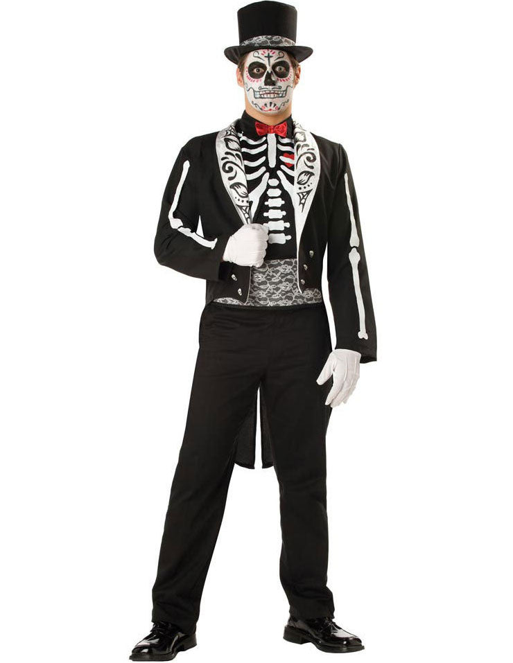 Mens Day Of The Dead Suit Perth Hurly Burly Hurly Burly Abn