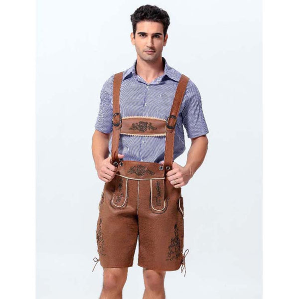 Deluxe Checked Lederhosen