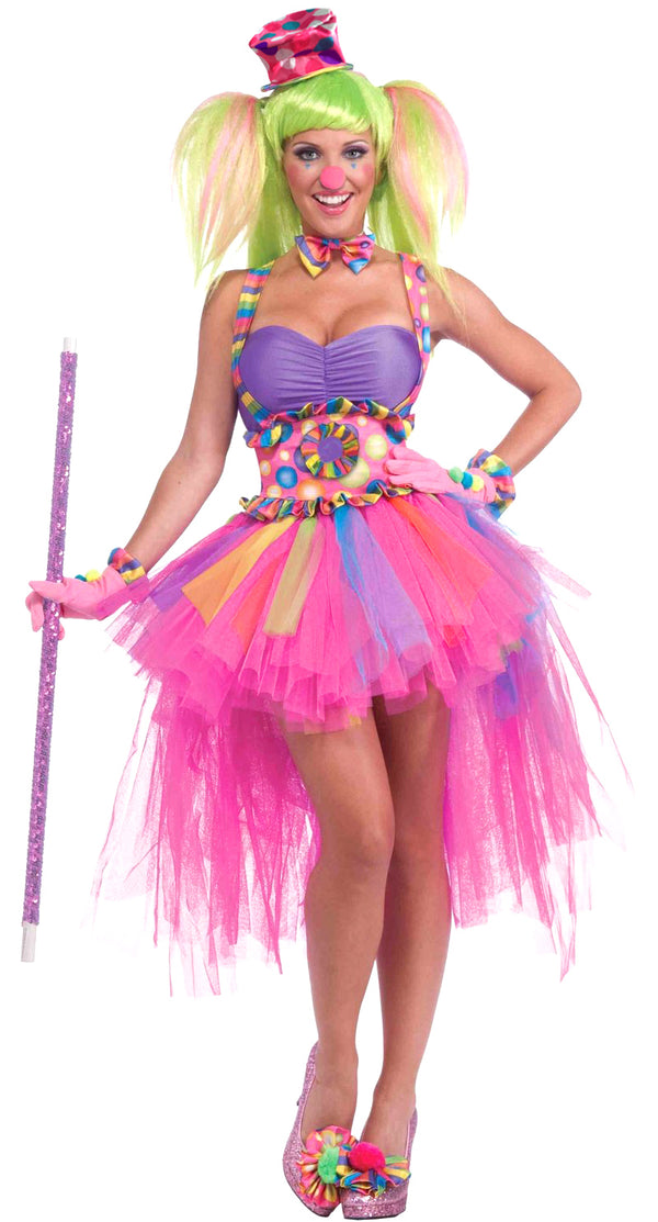 Colourful Clown Costume