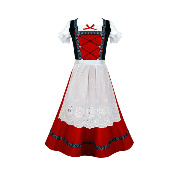 Classic Red Dirndl - Plus Size Available