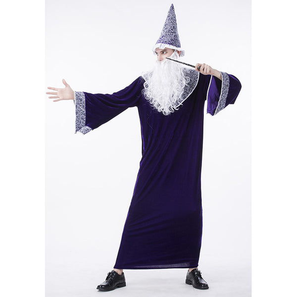 Harry Potter Purple Dumbledore Wizard Costume Perth