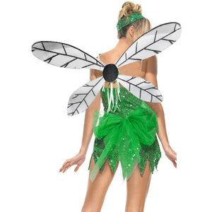 Sequinned Tinkerbelle Costume