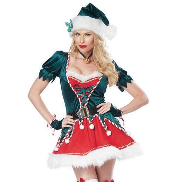 Christmas Elf Ladies Costume