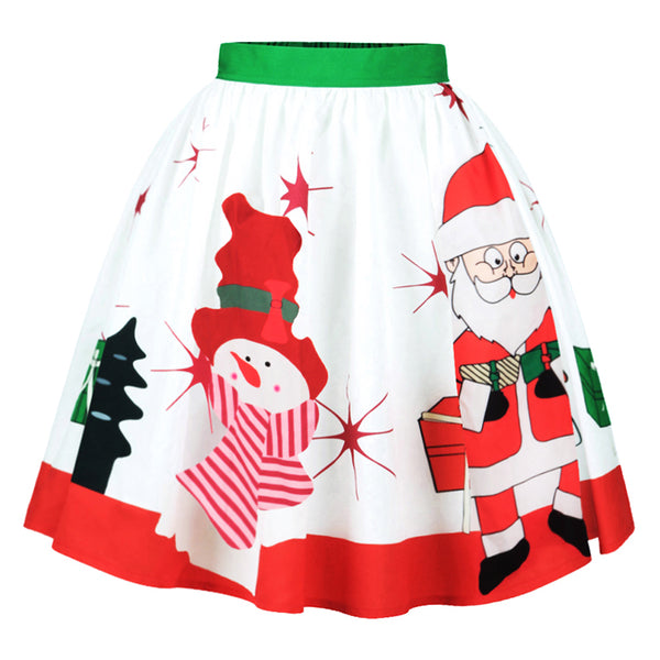 Christmas Swing Skirt