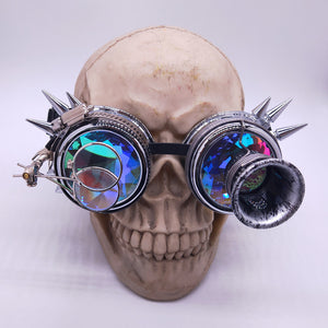 Steampunk Scientist Kaleidoscope Goggles