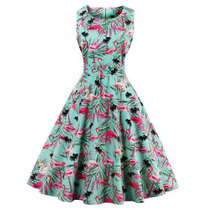 Tropical Flamingo Dress