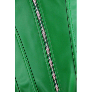 Green Wet Look Corset