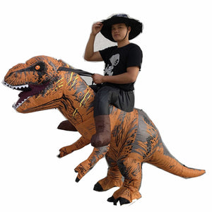 Inflatable Ride On T-Rex Costume