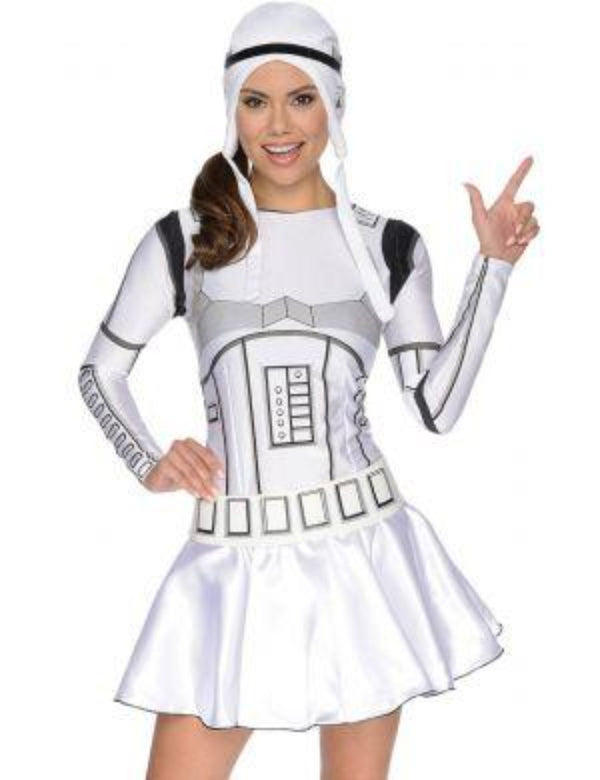 Star Wars: Ladies Stormtrooper Dress Costume