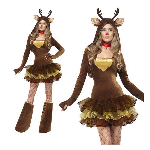Deluxe Rudolph Ladies Costume