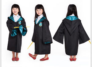 Harry Potter Slytherin Kids Cloak