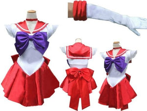 Sailor Mars Cosplay Costume