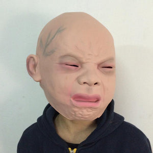Crying Baby Latex Mask