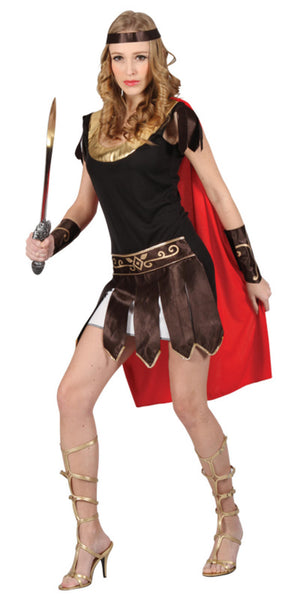 Warrior Gladiator Womens Costume