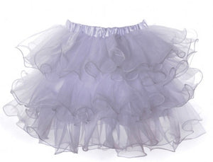 Scalloped Tutu White