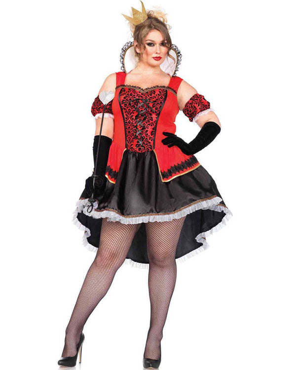 Plus Size Red Queen Costume