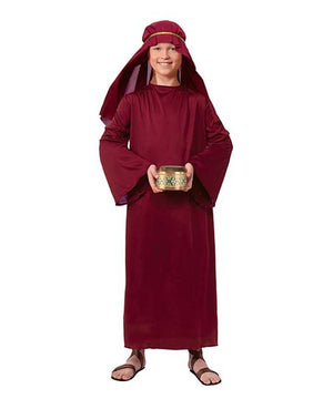 Kid's Biblical Burgundy Wiseman Robe