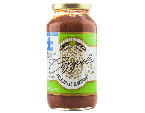 Coppola's Artichoke Marinara Sauce (Single Jar)