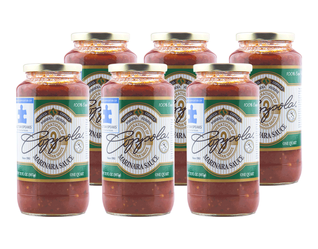 Coppola's Marinara Sauce (6-Pack)
