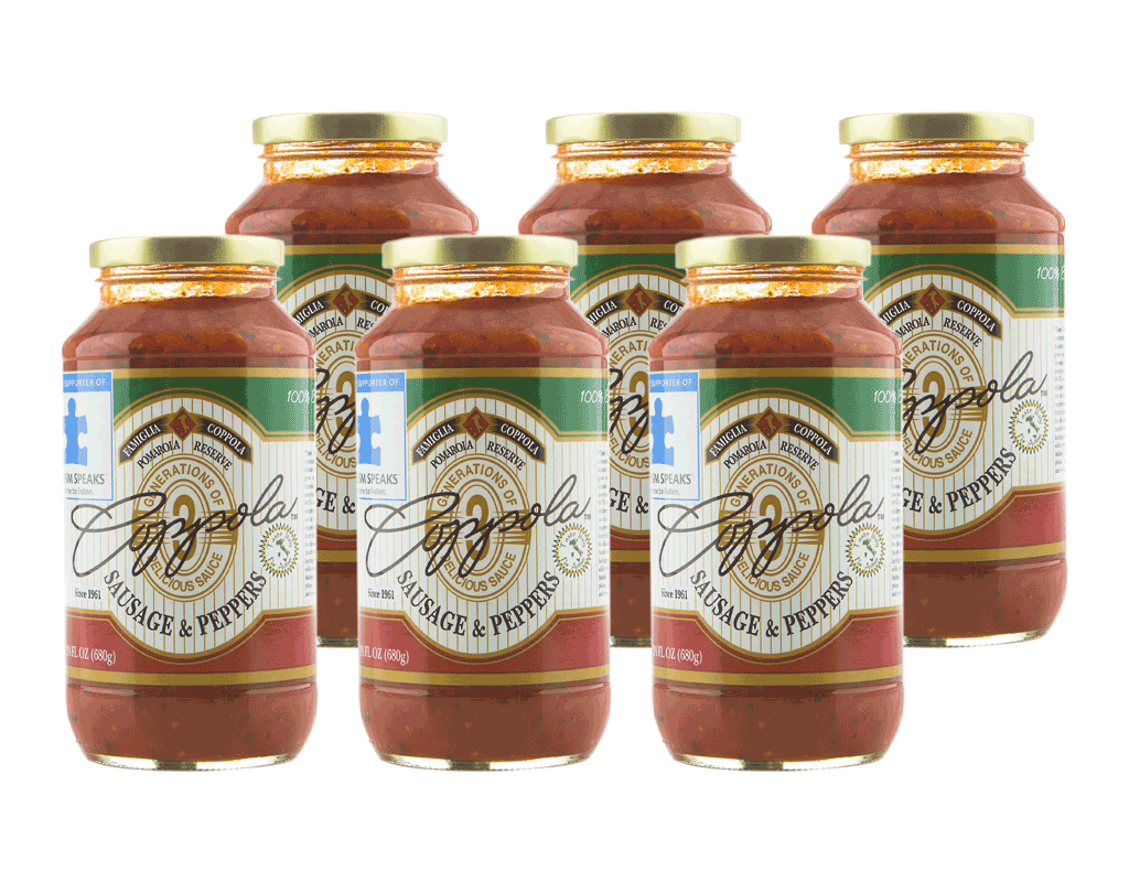 Coppola's Sausage and Pepper Sauce (6-Pack)