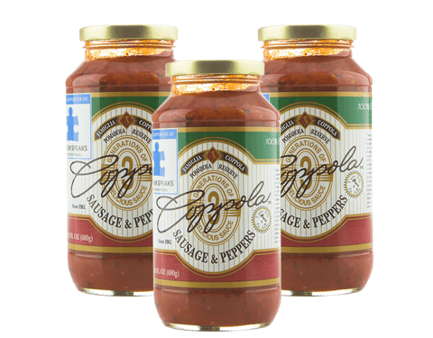 Coppola's Sausage and Pepper Sauce (3-Pack)