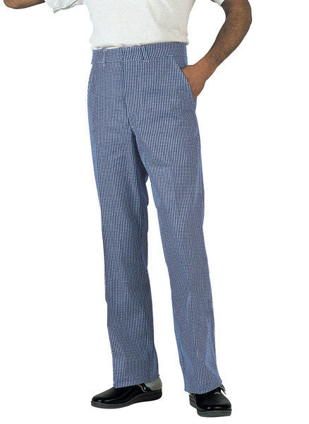 Chefs Trousers. DC02 (Chefs Cotton Trousers With Button Fastening)