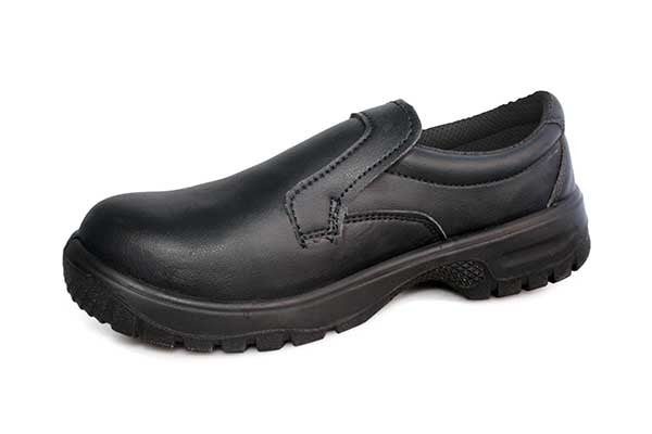 Slip-On Comfort Grip Shoe With Safety Toecap. DK40