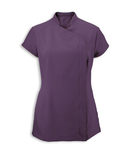 a. Tunic. NF59. (Women's easycare wrap zip tunic)