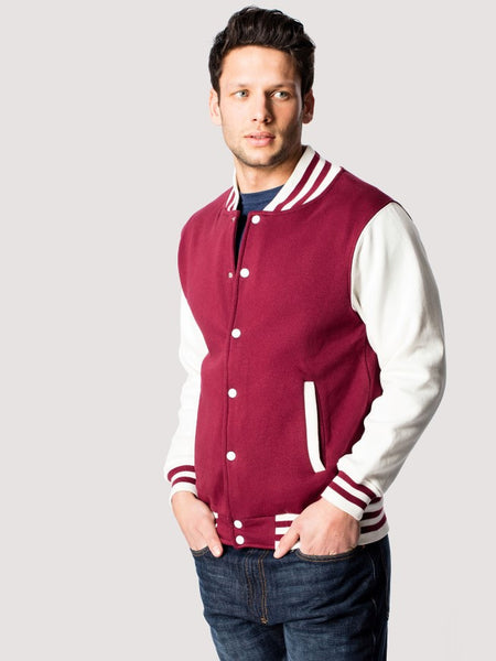 Jacket. UC525 (Men's Varsity Jacket)