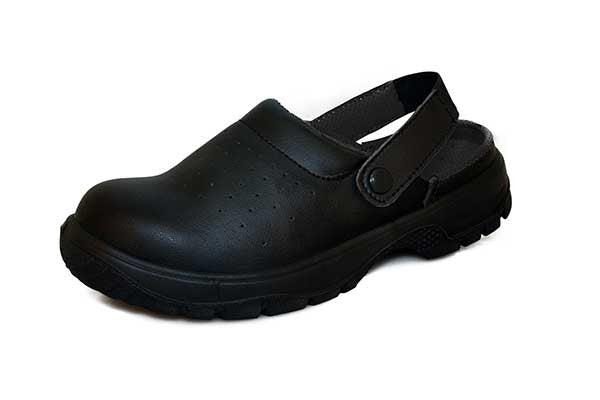 Comfort Grip Shoe With A Perforated Upper. DK41