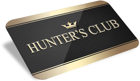 Hunter's Club Rewards Program