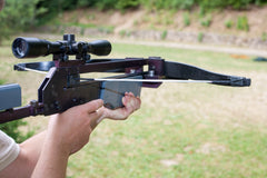How to use a Crossbow - How to Sight in a Crossbow