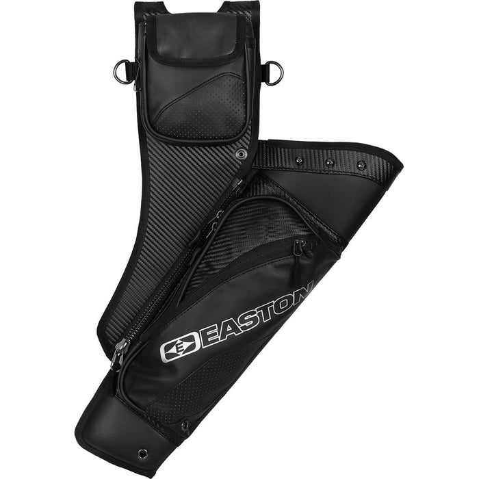 Easton Elite Takedown Hip Quiver w/Belt Black LH