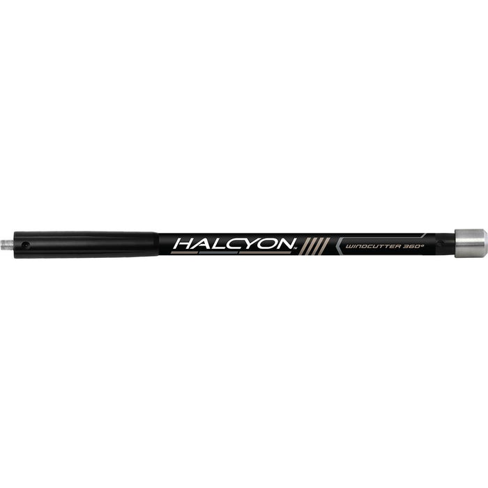 Easton Halcyon Side Rod Black 12 in.