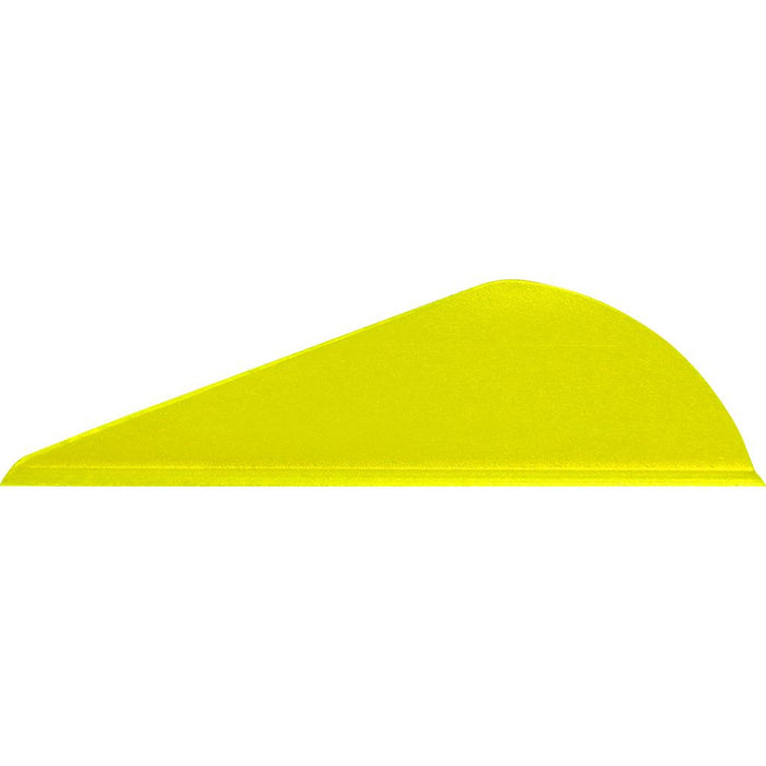 Easton Bully Vanes 2 in. Flo Yellow 100 pk.