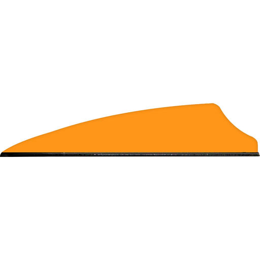 Q2i Fusion X-II SL Vanes Neon Orange 2.1 in. 100 pk.