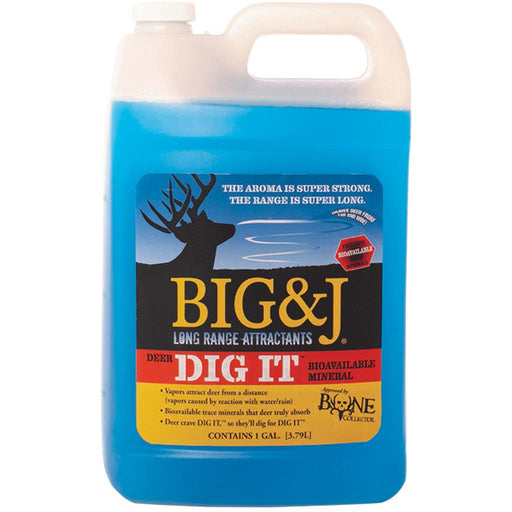 Big and J Deer Dig It Attractant 1 gal.