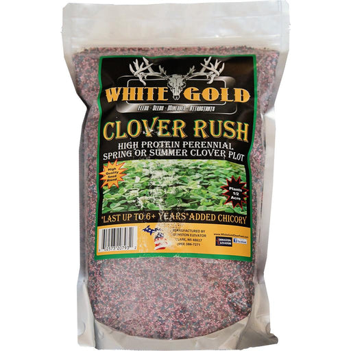 White Gold Clover Rush Seed 5 lb.