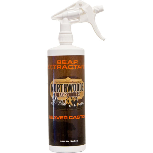 Northwoods Bear Products Spray Scents Beaver Castor 32 oz.