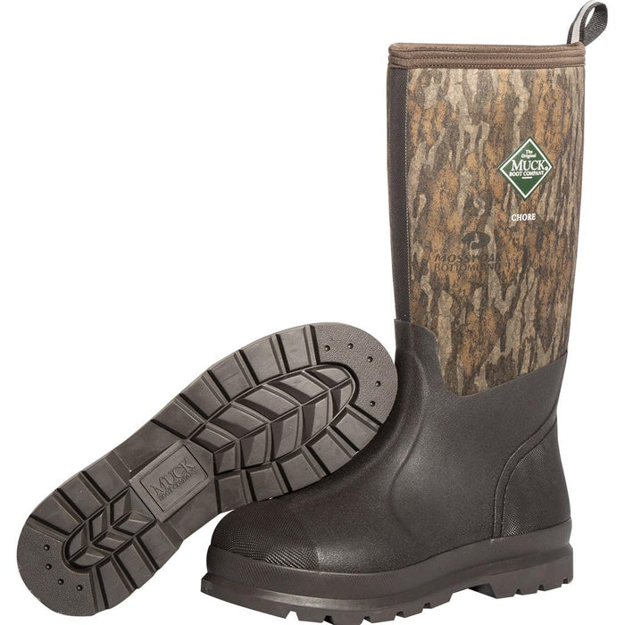 Muck Chore Classic Boot Bottomlands Camo 10