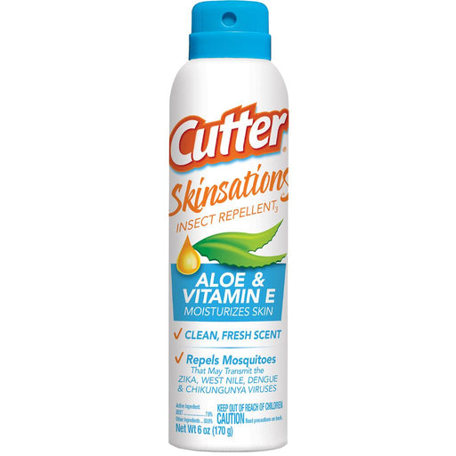 Cutter Skinsations Insect Repellent 7% DEET 6 oz. 2 pk.
