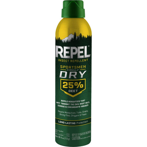 Repel Insect Repellent Sportsmen Dry Formula 25% DEET 4 oz.